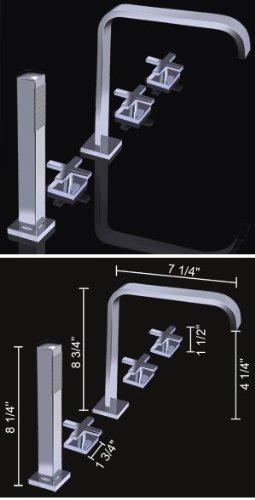 Aqua Polished Faucet - 6
