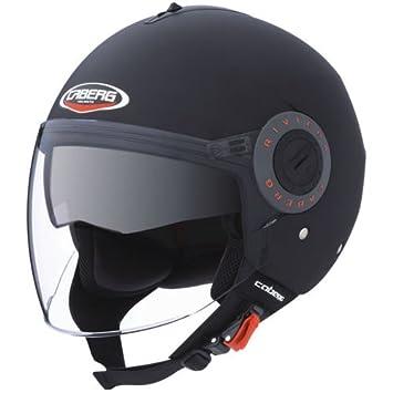 Caberg Riviera 2 - Casco de moto, color negro XS negro