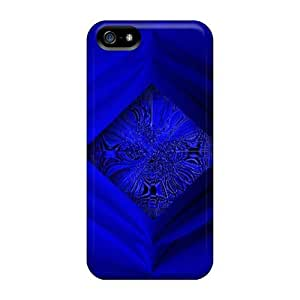 Fashion Case Cover For Iphone 5/5s(blue Block)