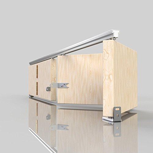 SLIK 08SL006091 914 mm Folding Door Gear Track: Amazon.co.uk: DIY ...