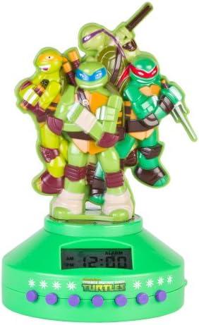 Teenage Mutant Ninja Turtles 52365-TRU Alarm Clock Radio 52365