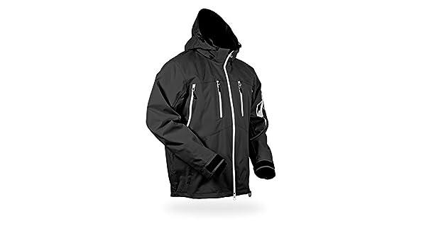Black, XXX-Large HMK Mens Ridge Jacket HM7JRIDB3XL