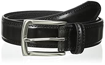 Dockers Men's Feather-edge Belt,Black,32