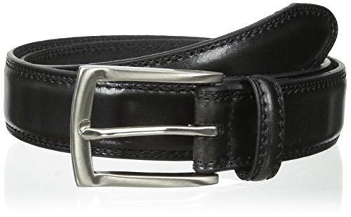 Dockers Men's Feather-edge Belt,Black,36 ()