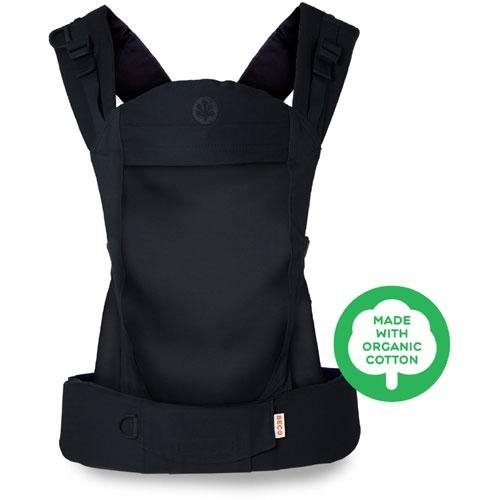 Beco Soleil Baby Carrier - Organic Metro Black - Birth and (Metro Baby Carrier)