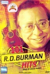 Price comparison product image 101 R. D. BURMAN HITS 3 DISC DVD SET(Cyber Monday)