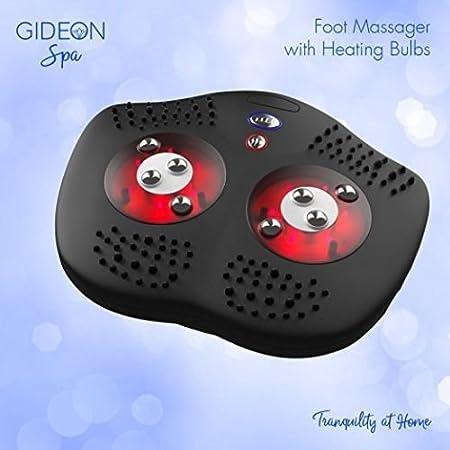 Amazon.com: Masajeador De Pies Shiatsu y Acupuntura Con Calor Infrarrojo Cura Calma Y Relaja: Health & Personal Care