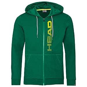 Head Chaqueta Club Fynn Hoodie FZ Verde: Amazon.es: Deportes y ...
