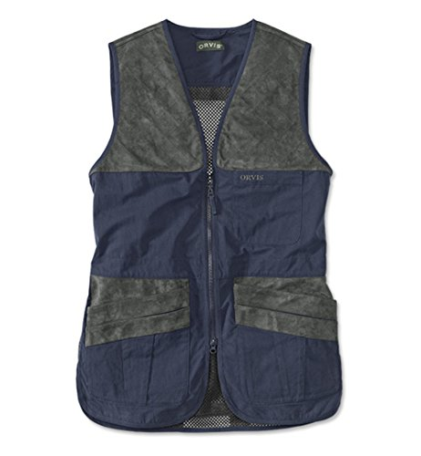 Vest Shooting Cloth (Men's Orvis Clays Shooting Vest, Large)
