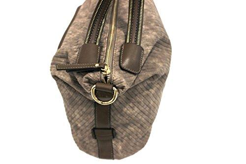 Borsa donna Naj Oleari l.zip mod.shopping a mano piccola 61373 talpa