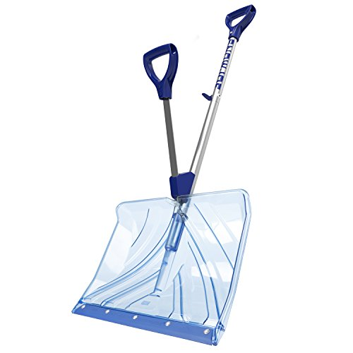 Snow Joe SJ-SHLV02 18-in Strain-Reducing Poly Carbonate Blade Snow Shovel w/Spring Assisted Handle by Snow Joe (Image #1)