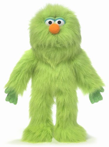 14'' Green Monster, Hand Puppet