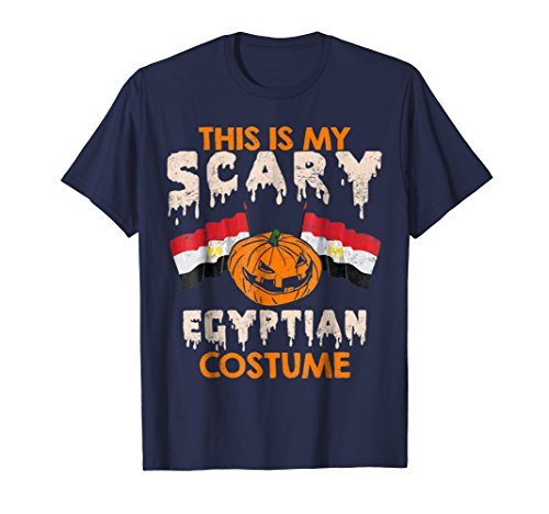 Egyptian Costume Scary Egypt Shirt Halloween Pumpkin