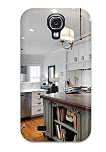 Galaxy High Quality Tpu Case Traditional White Kitchen With Contrasting Sage Kitchen Island Case Cover For Galaxy S4