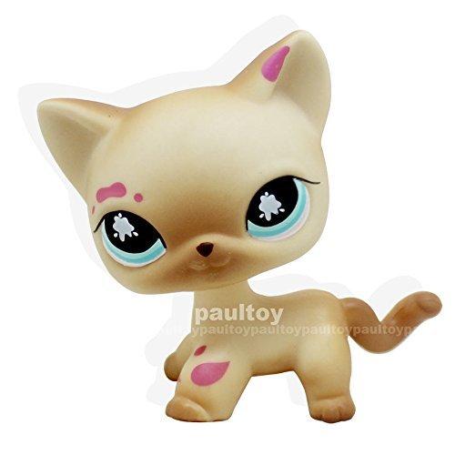Used Jessica Rabbit Costume (Littlest Pet Shop Messiest Cream Siamese Splash Cat Kitty Blue Eyes LPS #816)