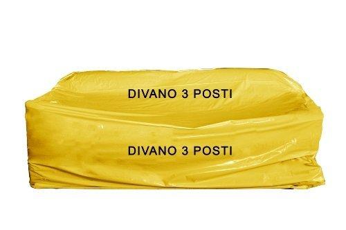3 opinioni per 1 Sacco copridivano nylon 3 posti x trasloco/conservare Mis. cm 175 x 350