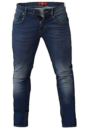 50 56 62 Blu 48 Jeans 44 London Affusolato Ambrose Vintage Grande Duke D555 64 60 58 54 46 52 42 Stretch wpq4Sxf