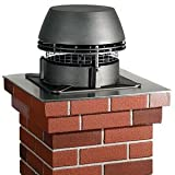 Chimney Fireplace Fan by Kingair Chimney (RS16)