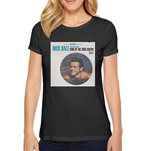 Short Sleeve Tees O-Neck Dick-Dale-King-of-The-Surf-Guitar-cd- T-Shirt for Women