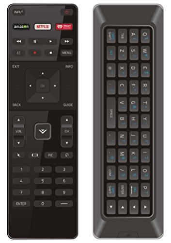 (Vizio XRT500 Dual side keyboard remote for P502UIB1 P502UIB1E P552UIB2 P602UIB3 P652UIB2 P702UI-B3 P702UIB3 RS65-BL RS65BL M322I-B1 M422I-B1 P502UI-B1 M602I-B3 P502ui-B1E P602UI-B3 P652UI-B2 M502i-B1)