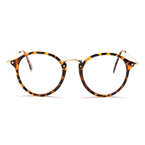 LOMOL Girls Fashion Classic Retro Cute Student Style Transparent Lens Frame - How Lenses Oakley To Clean
