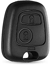 1pc Replacement Key Case For Citroen Key Cover For Toyota Aygo 2 Button Remote Key Fob Shell For Peugeot No blade No logo 9mmX3mm