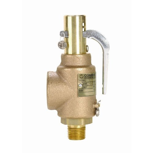 1/2 inch 1 inch 423000 BTU Steam Safety Relief Valve 100 psi
