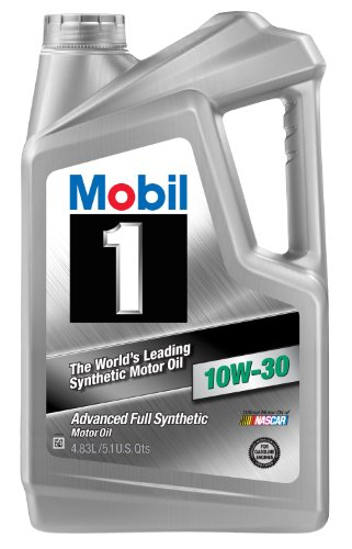 Mobil 1 98KY22 10W-30 Motor Oil - 5.1 Quart Jug (Pack of 4)