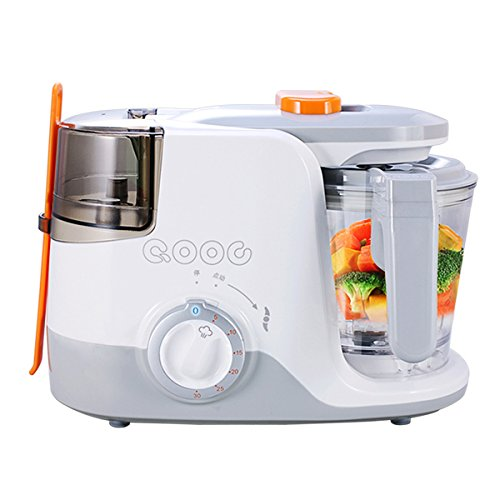 Baby Food Processors Electric Kitchenware Feeding Machine 3-in-one Nursing Blender and Steamer (Blender , Steamer & Sterilizer) QOOC