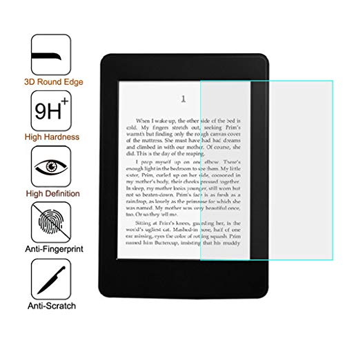 Cywulin Screen Protector for Amazon Kindle Youth Edition 2019 High Definition Scratch Resistant Tempered Glass Film Bubble Free Fit Kindle Youth Edition 2019 10 Generation 6 Inch E-Book (3 Pack)