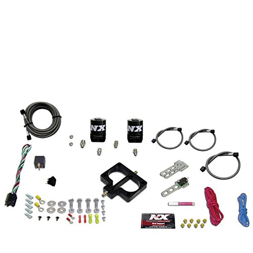 - Nitrous Express 20945-00 Throttle Body Injection Plate System for Dodge Magnum Engine