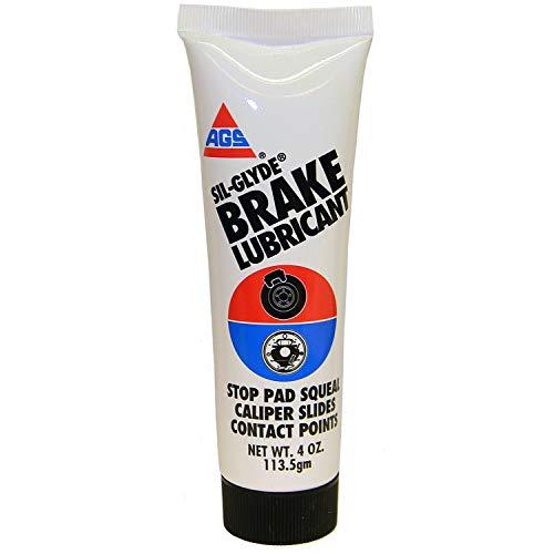 - Sil-Glyde Silicone Brake Lubricant, Tube, 4 oz