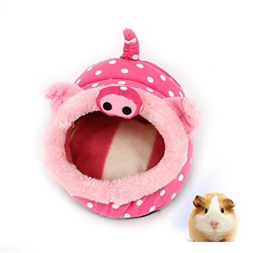 Cute Guinea Pig Hamster House Winter Warm Small Animal Pe...