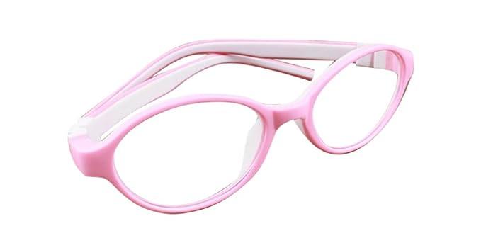 De Ding Kinder Eyewear Kid Brille pink weiß Rahmen xTvAk