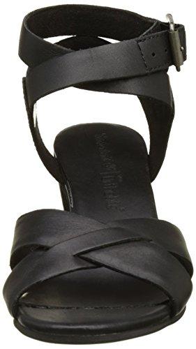 Negro Cuña Sandalias Ca19gh 36 Para Mujer Timberland Black Swank Con dohCsQxBrt