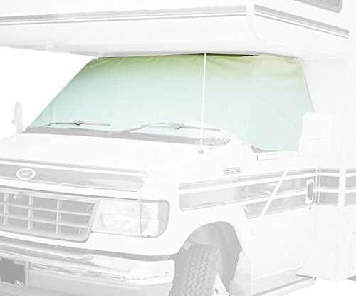 ADCO 2409 White Class C Chevy 2001-2015 Windshield Cover RV Motorhome with Mirror Cutouts Renewed