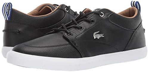 Lacoste Men's BAYLISS Sneaker black//white 7 Medium US