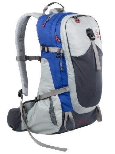 Granite Gear Jalapeno 35 Backpack – 2100cu in Fog/Blue, Reg, Outdoor Stuffs