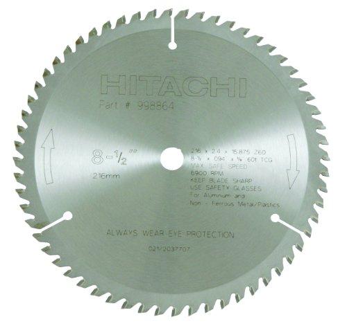 Hitachi 998864 8-1/2 in. 60-Tooth ATC Non-Ferrous Circular S