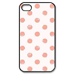 YCHZH Phone case Of Polka dot Cover Case For Iphone 4/4s