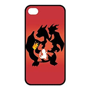 Madisonarts Customize Pokemon Charmander Iphone 4/4S Case TPU Case Fits and Protect Iphone 4 and Iphone 4s-MA-Iphone 4-01760