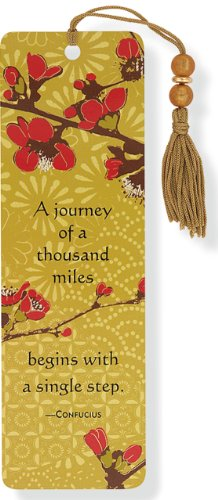 Japonica Beaded Bookmark