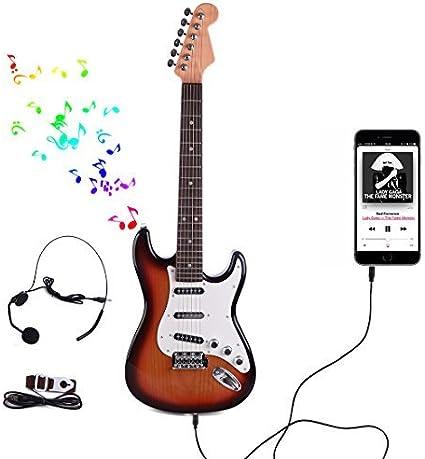 RuiyiF Guitarra para niños para principiantes, niños, niñas, niños ...