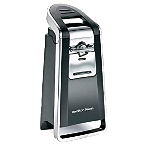 Hamilton Beach (76606ZA) Smooth Touch Electric Automatic Can Opener with Easy Push Down Lever, Opens All Standard-Size…