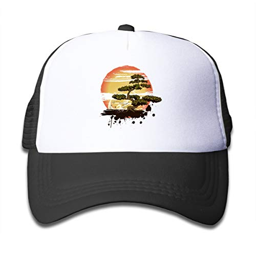 Z Cheing Bonsai Tree Karate Dojo Boy and Girls Mesh Baseball Cap Kids Truckers Hat -