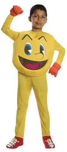 Pac-Man and The Ghostly Adventures Deluxe Pac-Man Costume, -