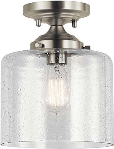 Kichler Lighting 44033NI Semi Flush - Kichler Single