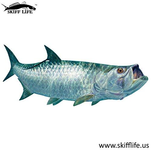 Tarpon Fishing Decal Fish Sticker Randy McGovern Art (Tarpon Decal)