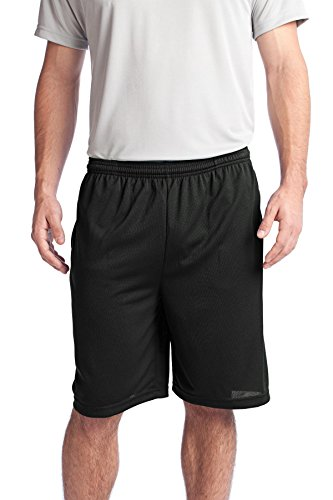 Sport-Tek Men's PosiCharge Tough Mesh Pocket Short L -