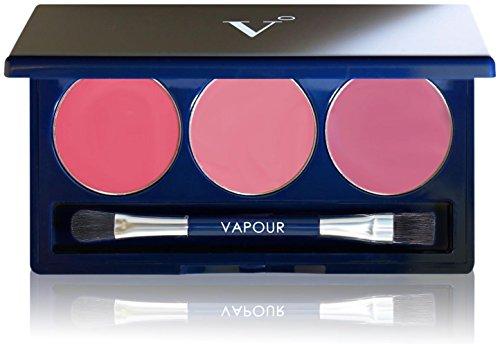 Multi Use Makeup Palette - Vapour Organic Beauty Artist Multi-Use Palette, Afterglow/Courtesan, 0.14 Ounce
